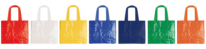 Shopper in polipropilene  laminato
